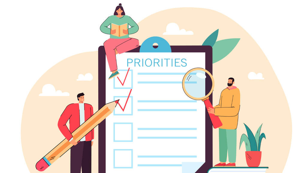 چگونه کارهایم را اولویت بندی کنم؟